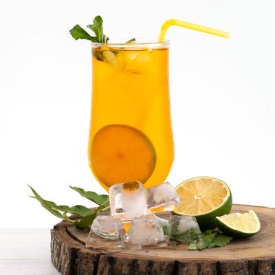 Destornillador naranja bebida para día festivo