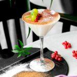Martini de Mazapán bebida navideña
