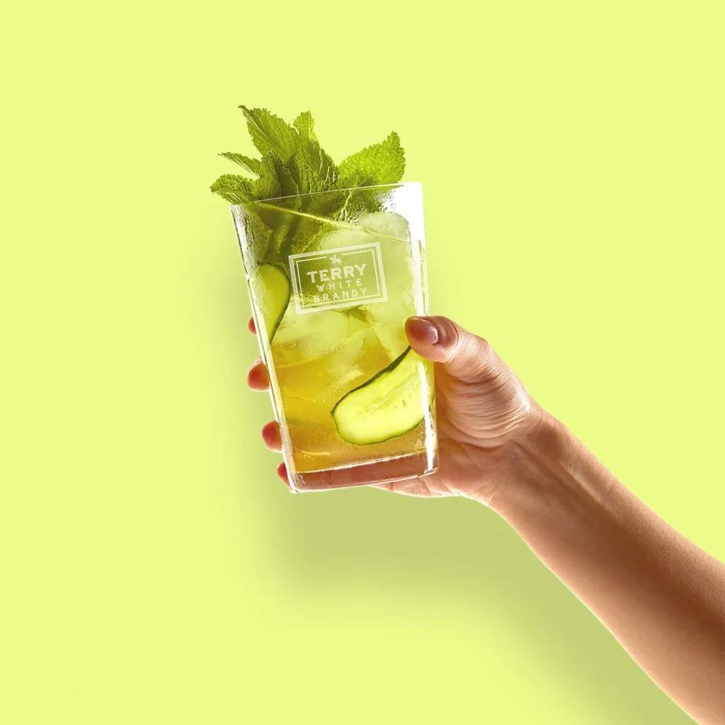 Bebida refrescante con alcohol Terry Apple